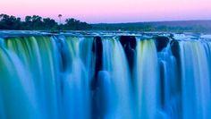 Chobe 15 Tage Wunderwelten-Reise. Victoriafälle in der Morgensonne (© Chamäleon)