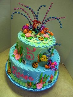 Little Mermaid — Children's Birthday Cakes