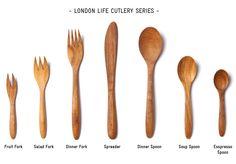 TWL shop London Life Cutlery Series
