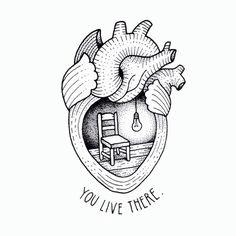 Image via We Heart It https://weheartit.com/entry/168034781 #art #background #heart #live #wallpaper #you #fondosdepantalla