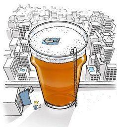 by Skipworth, Richard Humour Wtf, Beer Cartoon, Cartoon Logo, Drink Menu Design, Beer Pictures, Beer Art, Beer Humor, Beer Garden, Beer Lovers