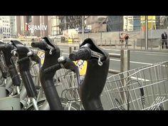 Implantan peaje urbano en Bruselas para descongestionar el tráfico - YouTube