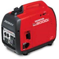 Honda EU2000i Super Quiet Portable Gas Powered Generator Power Inverter 2000, 120V
