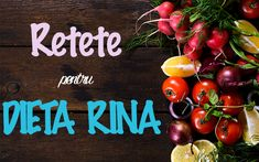 Rina Diet, Low Glycemic Diet, Diet Recipes, Healthy Recipes, Deserts, Health Fitness, Vegetables, Foods, Sport