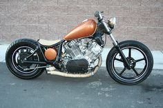 82 yamaha virago bobber by dosracin702, via Flickr