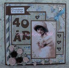 Karins-kortemakeri: Førstehjelpsskrin 40 år Cardmaking, Frame, Inspiration, Decor, Picture Frame, Biblical Inspiration, Decoration, Decorating, Frames