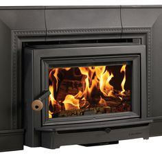 HearthStone Wood Fireplace Inserts available at Higgins Energy Alternatives, 140 Worcester Road, Barre, MA or call Wood Burning Insert, Wood Insert, Outdoor Gas Fireplace, Stove Fireplace, Fireplace Ideas, Focus Fireplaces, Gas Fireplaces, Soapstone Stove, Buck Stove