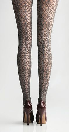 love these tights, Dark Shadow California Boucle Tights