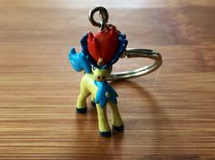 Keldeo Pokemon Keychain, Keldo Keychain, Keldo Keyring, Pokemon Accessories, Backpack Keychain, Pokemon Keychain, Pokemon Keyring