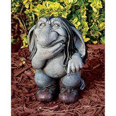 Blagdon Interpret Design Toscano Figurine de troll Pondering Sylvester, the Cynical Gnome Blagdon http://www.amazon.fr/dp/B00BB534MY/ref=cm_sw_r_pi_dp_3EPGvb0246KND