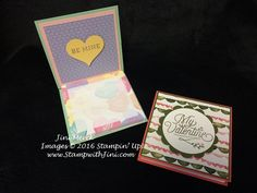 Bloomin Love Valentine Post it note holders (3)