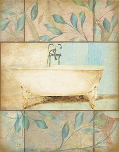 Bath Blue Tub (Grace Pullen)