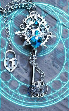 Kingdom Hearts Time Rift Keyblade by KeypersCove.deviantart.com on @deviantART