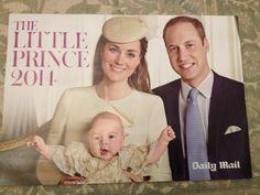 KATE MIDDLETON prince george alexander louis Royal Baby Calendar 2014