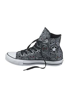 skull furniture for sale | Converse All Star Hi Black Skull Ankle Boots | Holiday Fashion ...