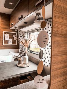 Caravan Makeover, Caravan Renovation, Small Caravans, Mini Camper, Van Living, Remodeled Campers, Happy Campers, Motorhome, Glamping