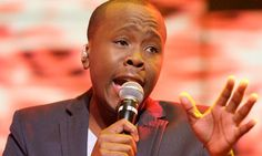 Khaya Mthethwa crowned South African idol 2012; such a joyous fellow :) well done to Mr Khaya