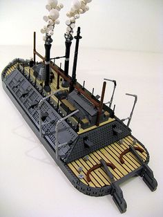 Three Ways to Incorporate Your Hobby into Your Daily Life Lego Warship, Legos, Steampunk Lego, Lego Boat, Lego Pictures, Lego Worlds, Cool Lego Creations, Lego Design, Lego Creator
