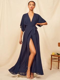 Be playful and fabulous at your friend's wedding with these favorite trends shopping list! #bridalmusings #bmloves #bride #wedding #weddingfashion #fashion #guest #weddinginspiration #party Preppy Fall, Poppy Dress, Navy Maxi, Long Cocktail Dress, Dress The Population, Maxi Wrap Dress, Kimono Dress, Elie Saab, Gowns