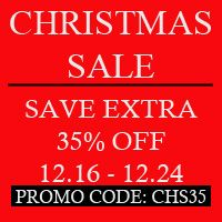 Christmas Sale, you can save extra 35%