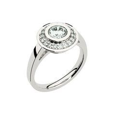 solitaire bague  diamant fiançaille label joaillerie de France
