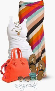 Casual Outfits   Fat Face Dakota Stripe Hoody   Fashionista Trends