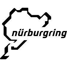 Nurburgring Vinyl Sticker/Decal, Car/Window/Bumper