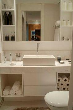 Banheiro do Apartamento Decorado   http://planoeplano.com.br/imovel/perfil-by-planoplano