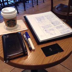 ー 20170428 H22_R7A __ 朝スタバと勉強postです。 青白カクノくんで、自分の勉強です。 おはようございます。 今日の天気予報は、晴れです。 4月最後の出勤日です。 夕方から社外打合せに行きます。 穏やかな週末を迎えられるよう 頑張ります。 今月のゆるい決心は、継続中です。 仕事も勉強も、少しずつ進めます。 あまり変化の見えない写真で ごめんなさい。 今日も安全で便利な電気が 皆様に届きますように! #万年筆 #カクノ #プレラ #勉強 #青ペン勉強法 #大人の勉強垢 #モニグラ #勉強垢さんと繋がりたい #能率手帳 #能率手帳ゴールド #能率手帳gold #おっちゃん手帳 #手帳バンド #ノリスキン #スタバ #スターバックス #スタバリザーブ #ドリップコーヒー 今日はSUMです。 #スマトラ #カフェとノート部 #カフェ勉 #文房具 ___English___ Morning Starbucks and study post. A blue-white kakuno-kun, is my study. Good morning. Today's…