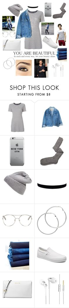 """""""❤️Louis ❤️"""" by meganjaned ❤ liked on Polyvore featuring Theory, Aiayu, UGG Australia, Chloé, Melissa Odabash, 7 For All Mankind, Vans, Michael Kors and Avon"""