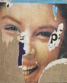 Mimmo Rotella, Sorriso P, 1963 Tornabuoni Art - La Dolce Vita Courtesy Tornabuoni Art