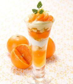 旬の国産フルーツ「清見」たっぷりのデザート、ロイホに季節限定で登場!