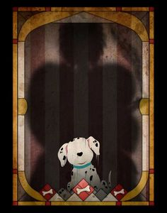 Disney characters and the shadows of their villains, by Joe Alexander http://society6.com/JoeAlexander