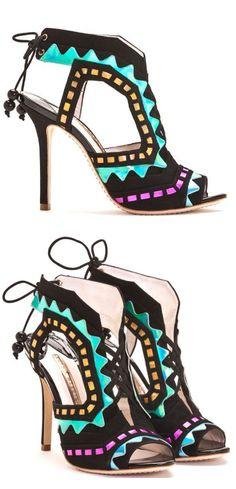 Sophia Webster Lace-Up Sandals