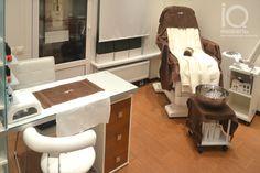 Pedicures, Manicure And Pedicure, Mermaid Salon, Nail Salon Decor, Mini Spa, Nail Room, Home Salon, Salon Ideas, Furniture