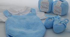 Hola a todos! En la entrada de esta semana os traemos esta ranita de algodón con sus patucos a juego, para que empecéis a tejer...