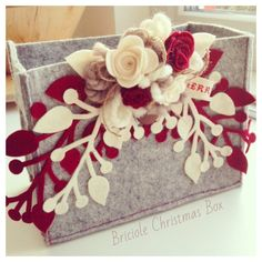 Christmas Box by Briciole, by Briciole Handmade, 15,00 € su misshobby.com