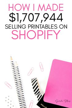 Shopify Store Income Reports Making money selling printables is completely possible when you use a p Earn Money Online, Online Jobs, Online College, Etsy Business, Online Business, Tshirt Business, 1 Million Dollars, Money Making Machine, Drop Shipping Business