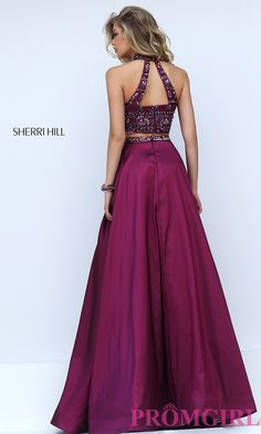 Prom Dresses, Celebrity Dresses, Sexy Evening Gowns: Sherri Hill Two Piece Dress…