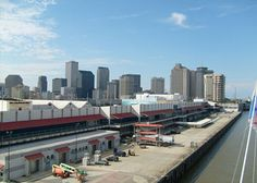 ...and here! the cruise terminal in new orleans