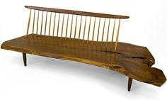 george nakashima | Temple of Light ::..: Benches by George Nakashima: