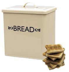 Retro Bread Bin in Powder Coated Steel (Champagne) Bread Bin, Bread Boxes, Powder Coating, Kitchen Dining, Champagne, Steel, Retro, Amazon, Design