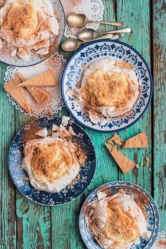 The proof of this nostalgic classic-turned-vogue dessert lies in its legacy, taking a contemporary turn for the even better. Recipes, styling and photograph by Hein van Tonder  If you loved these milk tart Pavlovas with cinnamon shortbread crumble, then you will definitely enjoy these recipes (take our word for it): . Peppermint Crisp fridge tart (one of your all-time favourites) Peppermint Crisp ice-cream cake (you can never go wrong with Peppermint Crisp) Chocolate malva pudding (a…