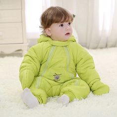 Winter baby rompers infant Down hot boy girl thicken jumpsuits down's outwears jumpsuit for baby snowsuits winter clothes