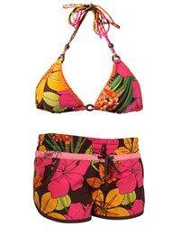 Boardshort, maillot bermuda, maillot de bain shorty - Maillots de bain 2007, mode été 2007, mode plage -