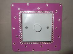 very girly light switch surround