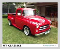 1956 Dodge Fargo classic car. I wouldn't drive it, but I would definitely want to have it.