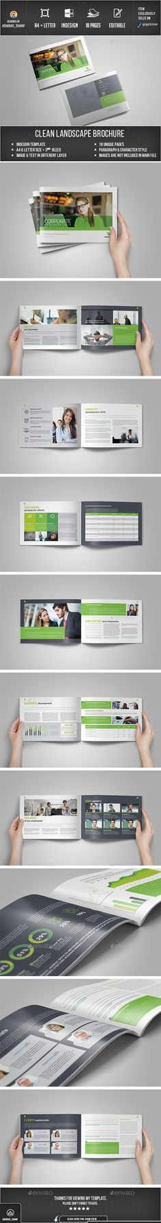 Brochure - Corporate Brochures FEATURES: Easy Customization and Editable A4 and Letter Size with 3mm bleed 18 pages Paragraph Style, Carecter style included Images, text, Objects are Different Layers Design in 300 DPI Resolution Simple Color Swatch Option for Apply Whole Documents Indesign files Images are not Included working file adobe cc CS4,CS5,CS6 & CC or latter version supported