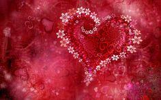 Romantic 3d Heart Love Wallpaper High Definition Wallpapers | walljez.
