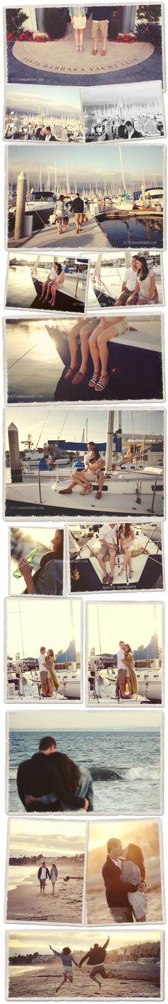 David & Kaitlin | Engagement | Santa Barbara Photographer | Beth Armsheimer Photography | The Blog